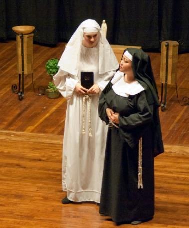 Sister Angelica in Sour Angelica by Giacomo Puccini with Rimrock Opera.