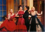 """Michelle Kei Ishuu as Yvette in """"La Rondine"""" with Lyric Opera San Diego"""