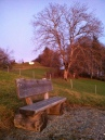 Wonderful benches everywhere to enjoy the views and crisp clean air.